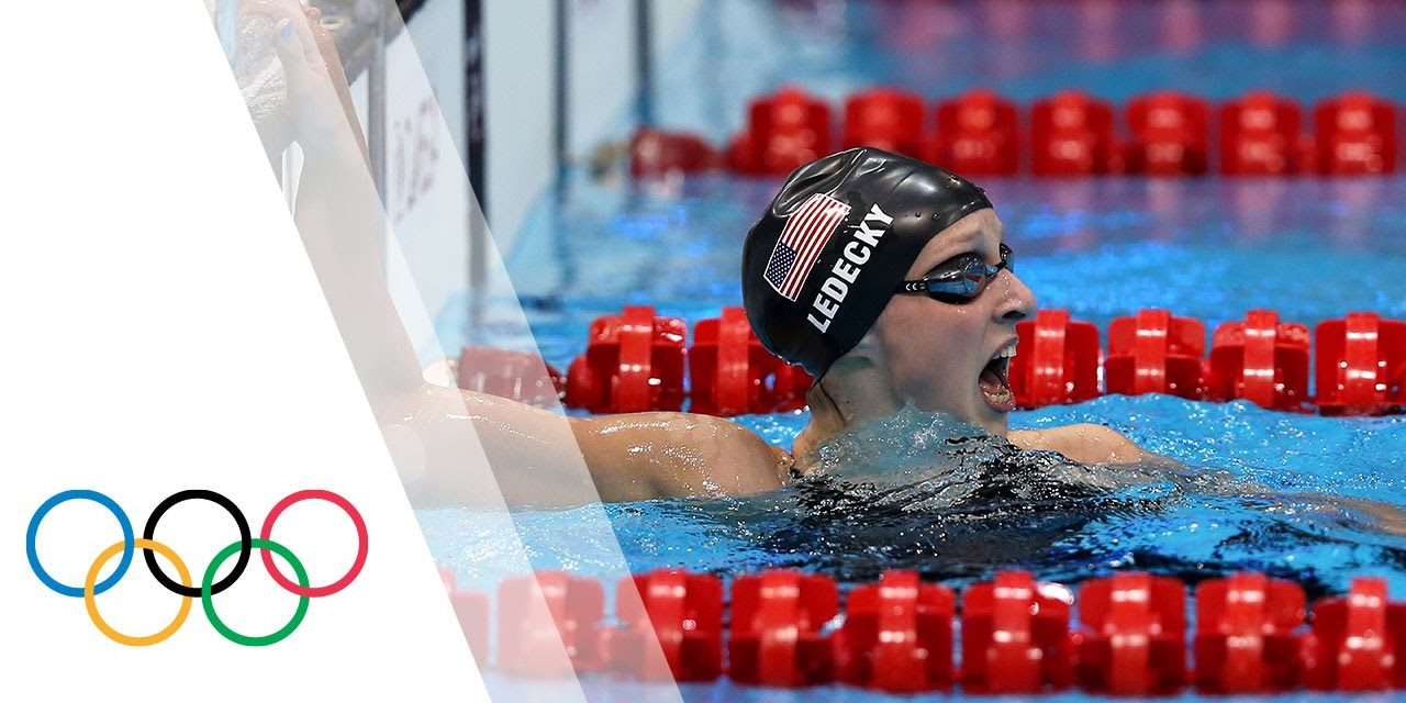 Katie Ledecky wins Olympic Gold – Women's 800m Freestyle   London 2012 Olympic Games