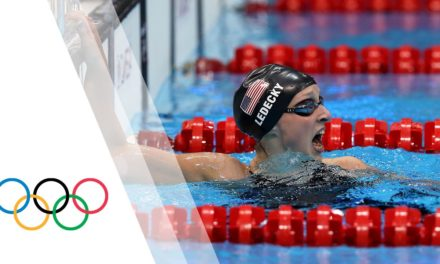 Katie Ledecky wins Olympic Gold – Women's 800m Freestyle | London 2012 Olympic Games