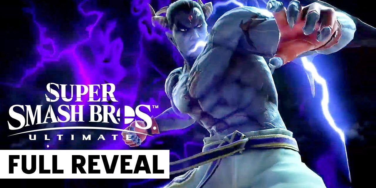 Kazuya Mishima Smash Bros. Ultimate X Tekken Full Presentation | Nintendo E3 2021
