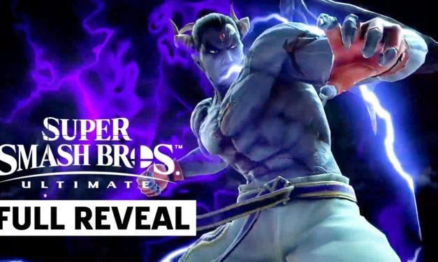 Kazuya Mishima Smash Bros. Ultimate X Tekken Full Presentation   Nintendo E3 2021