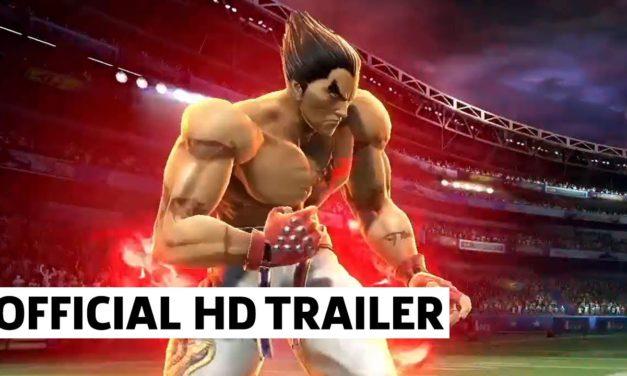 Kazuya Mishima Smash Bros. Ultimate X Tekken Reveal   Nintendo E3 2021