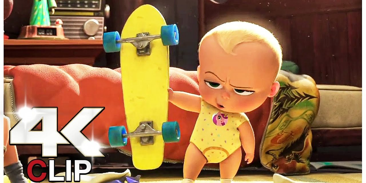 Late For School Scene | THE BOSS BABY 2 FAMILY BUSINESS (NEW 2021) Movie CLIP 4K