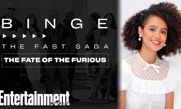 Nathalie Emmanuel on 'The Fate of the Furious'   The Fast Saga   EW's Binge   Entertainment Weekly