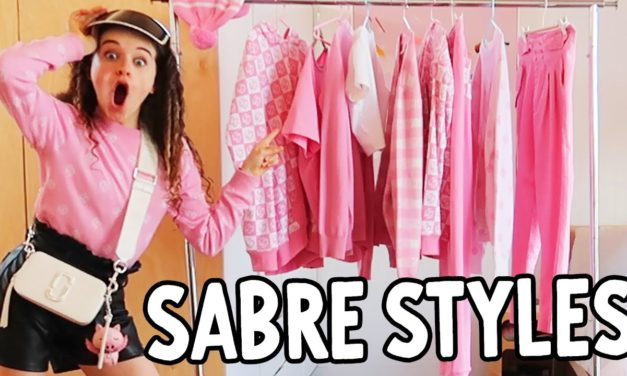 SABRE STYLES NEW CLOTHES (Pink NN Range)