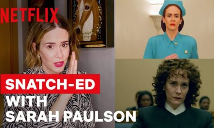 Sarah Paulson Breaks Down Her Iconic Career Through Wigs | Netflix