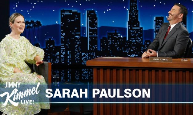 Sarah Paulson on Pandemic Neurosis, Make Out Party with Matthew Perry & Friendship with Diane Keaton