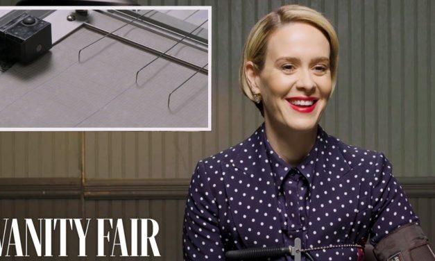 Sarah Paulson Takes a Lie Detector Test | Vanity Fair