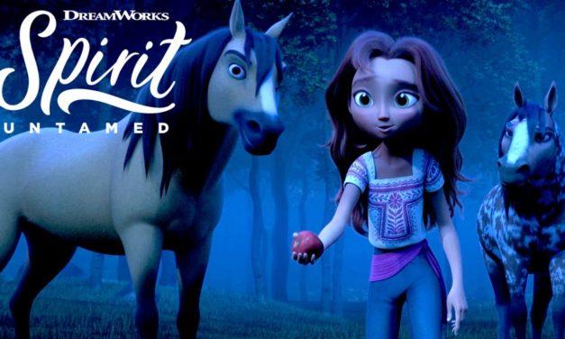 SPIRIT UNTAMED   Lucky Meets Spirit's Herd [EXCLUSIVE CLIP]