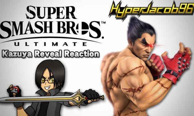 TEKKEN X SMASH?!   Super Smash Bros. Ultimate   Kazuya Mishima Reveal Trailer Reaction