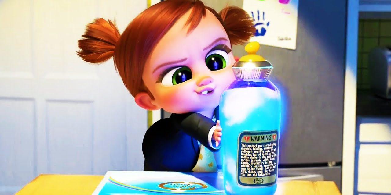 "THE BOSS BABY: FAMILY BUSINESS Clip – ""Shrinking Formula"" + Trailer (2021)"