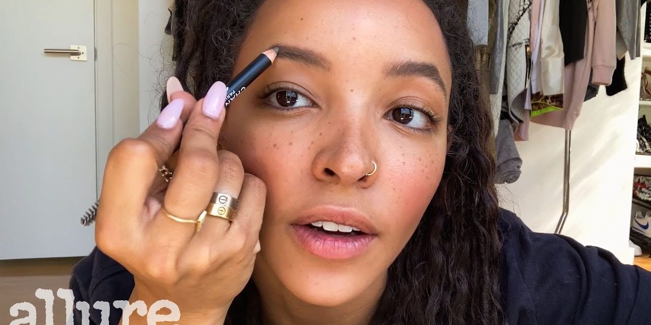 Tinashe's 10 Minute Beauty Routine For Perfect Eyebrows & Blush | Allure