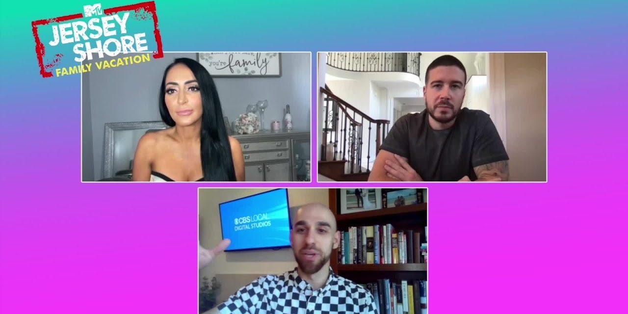 """Vinny Guadagnino & Angelina Pivarnick On MTV's """"Jersey Shore Family Vacation"""""""