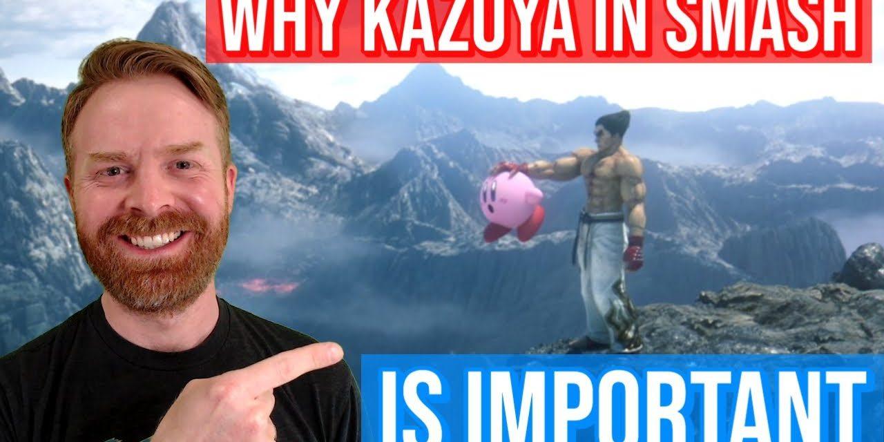 Why Kazuya in Smash is a very huge deal