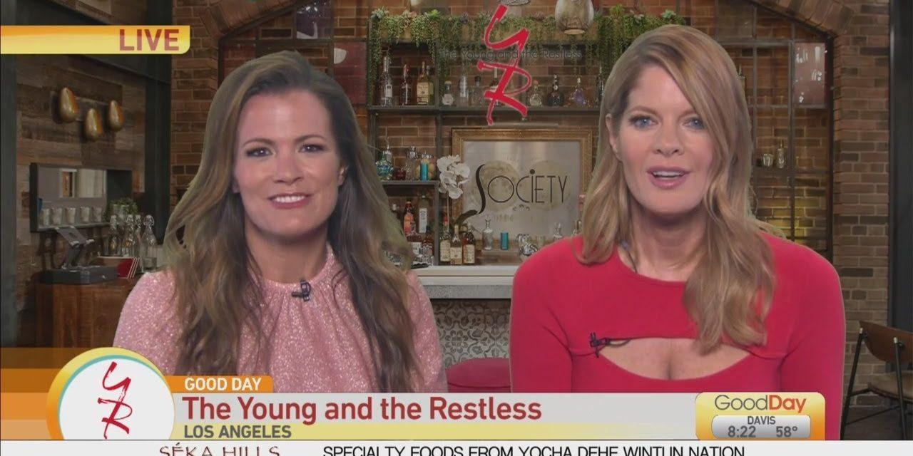 Y&R: Michelle Stafford & Melissa Claire Egan