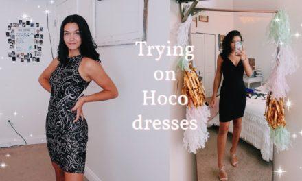 Fall Homecoming Dresses