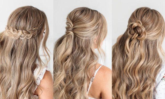 Half Up Half Down Homecoming Hair