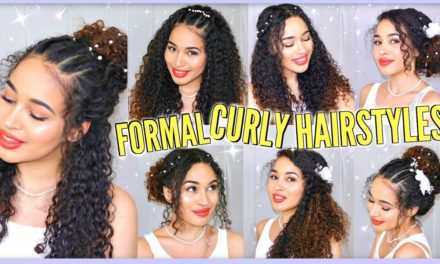 Homecoming Hairstyles For Curly Hair