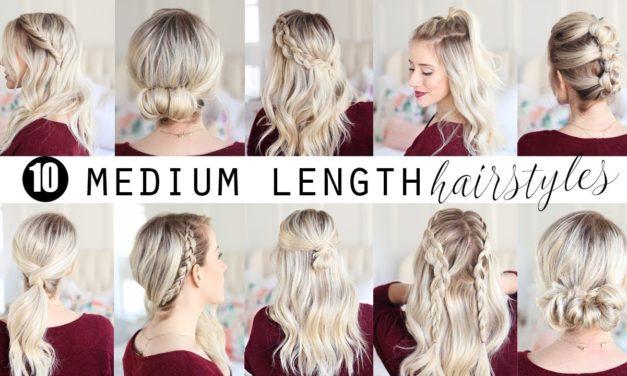 Homecoming Hairstyles For Medium Length Hair