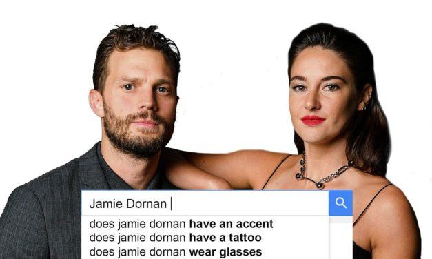 Jamie Dornan and Shailene Woodley