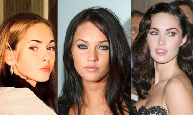 Megan Fox Then And Now