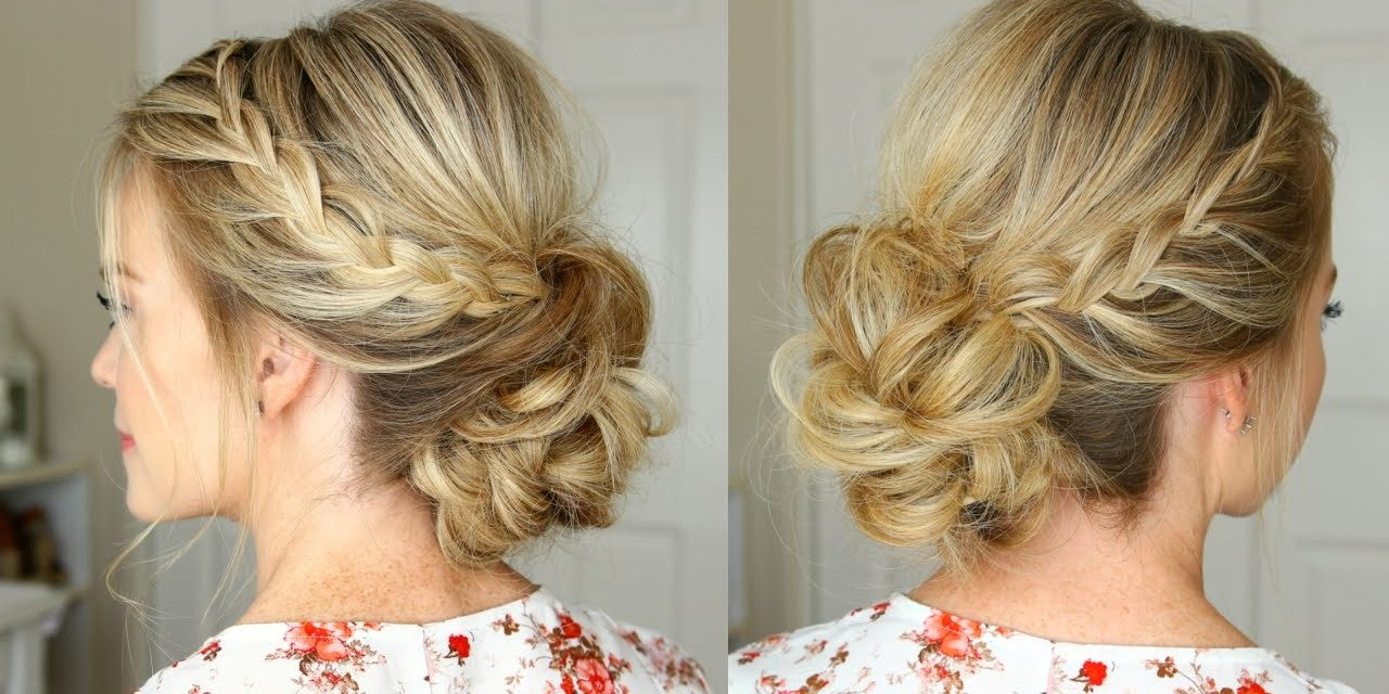 Simple Homecoming Hairstyles